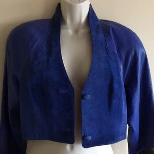 Michael Hoban North Beach Suede/ Leather jacket